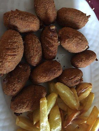 Periana, إسبانيا: Croquetas caseras