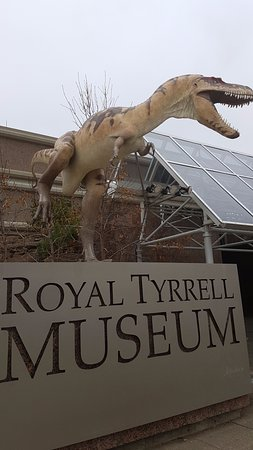 Museum Royal Tyrrell: Entrance