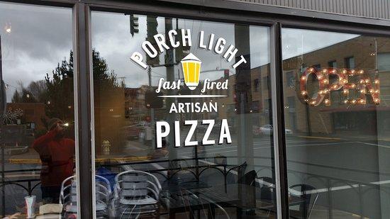 Pullman, Вашингтон: Porch Light Pizza