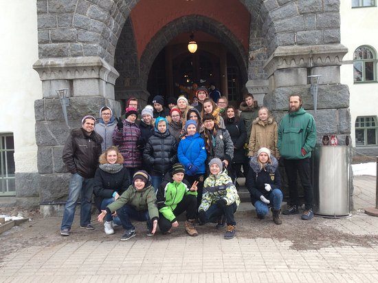 Imatra, Finland: Guided Tour of Castle Hotel