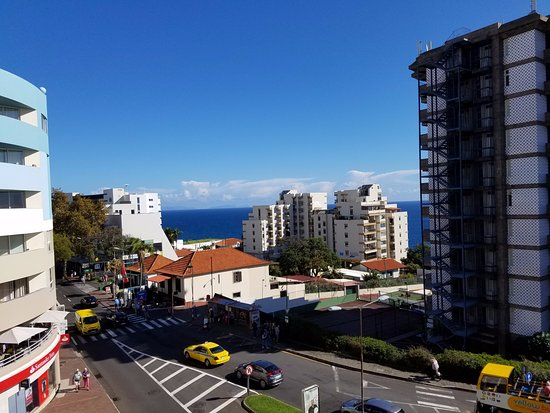 Lince Hotel Madeira: Looking east from room window