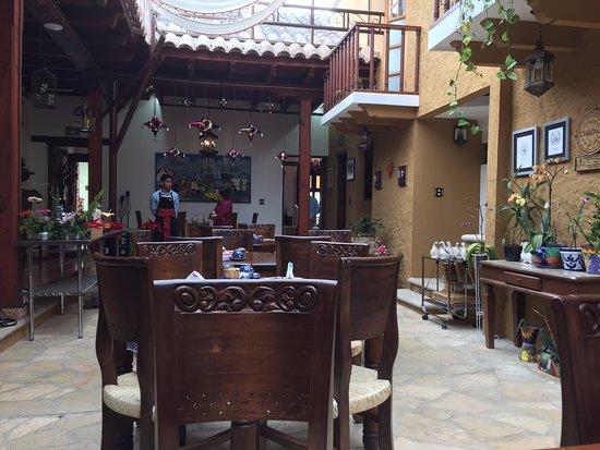 Casa Santa Lucia: Indoor Dining Patio