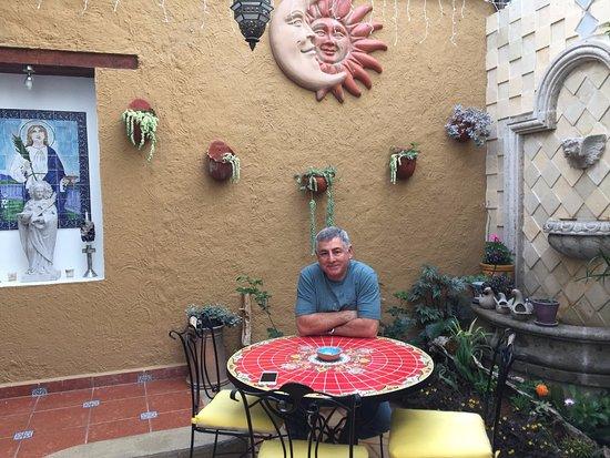 Casa Santa Lucia: Outdoor Patio