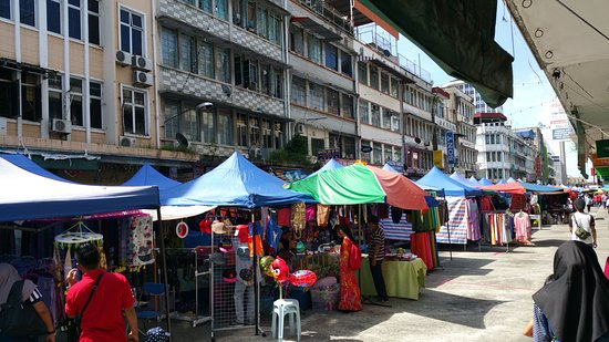 May Fair Hotel: Markets on Sunday right outside hotel