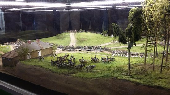Vytautas the Great War Museum: Model of a Cavalry Charge