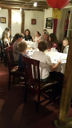 Eye, UK: Birthday dinner