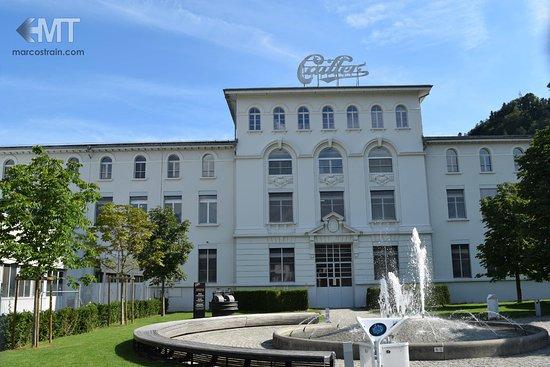 Broc, Switzerland: Edificio de la fábrica