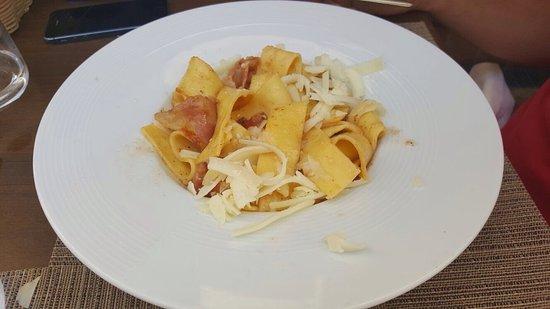 Loreto Aprutino, อิตาลี: I due primi favolisamente serviti e dal gusto autenticamente Abruzzese 2.0