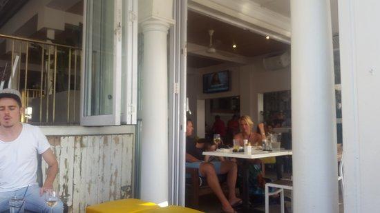 Camps Bay, Sydafrika: Cafe Caprice