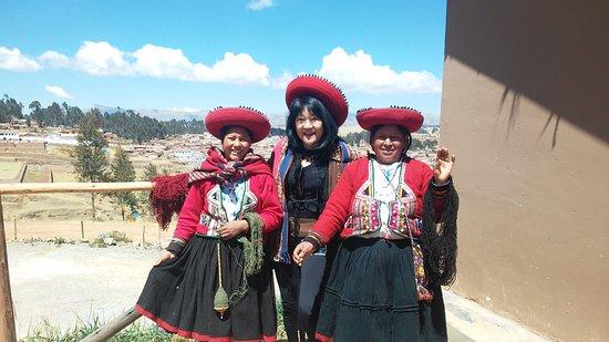 Chinchero, Peru: Hora da foto