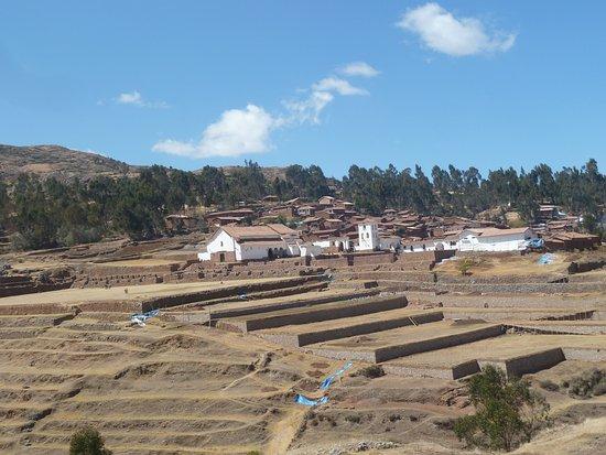 Chinchero, Peru: ruinas de Chionchero