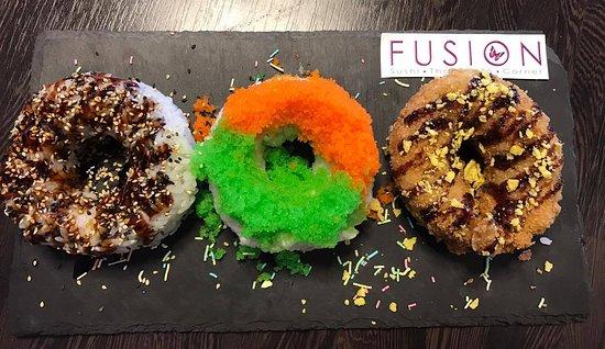 Slagelse, Δανία: sushi Donut
