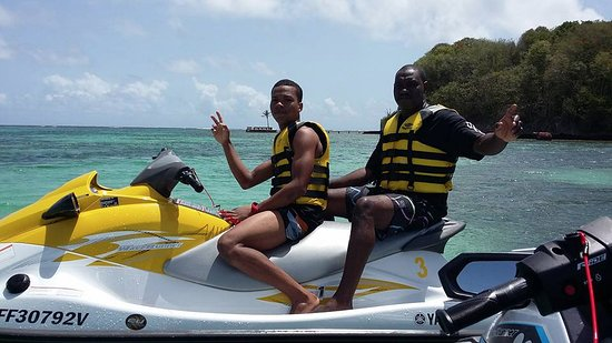 Le Vauclin, Martinique: Jets entre amis