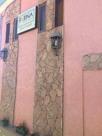Parina Atacama Apart Hotel: Vista externa do Hotel
