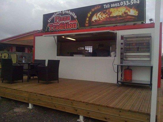 Saint-Gilles-les Hauts, Остров Реюньон: Pizza Tradition