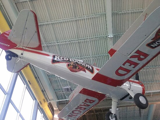 Museum of Science and Industry: Red Baron Squardon airplane
