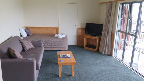Clearbrook Motel Wanaka: The living room