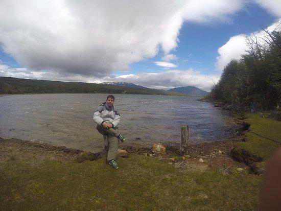 Rio pico...lago 3 hermoso lugar ,argentina