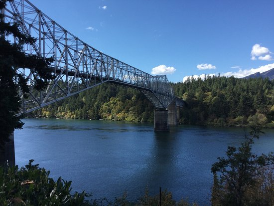 Troutdale, OR: Bridge of the Gods!