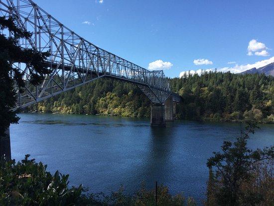 Cascade Locks, OR: Bridge of the Gods.