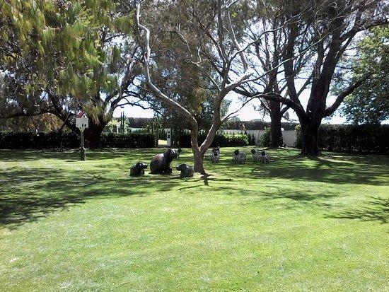 Havelock North, Nueva Zelanda: Garden & sculpture area