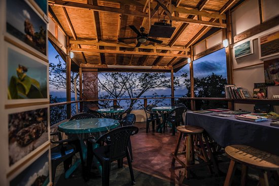 Providencia, Colombia: Terraza re-CREATIVA / Cafe