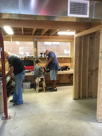 Granger, IN: helpful staff and fellow rc'ers. beginners and pros.