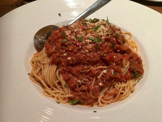 Bolognese Spaghetti - Picture of California Pizza Kitchen ...