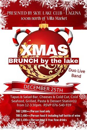skye lake club laguna phuket christmas day brunch dec 25 2016