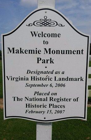 Temperanceville, VA: Historical Marker