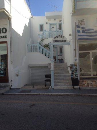 Dionysis Studios: Vista da frente