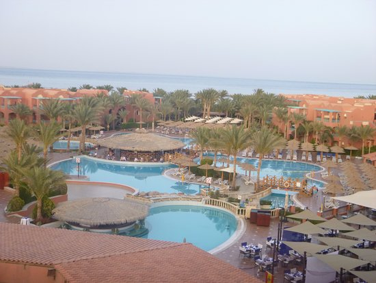 Club Magic Life Sharm el Sheikh Imperial: Main Pool, Pool Bar in Centre.