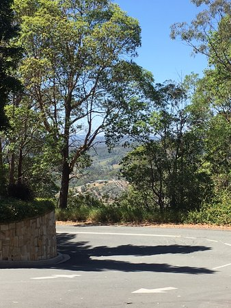 Clear Mountain, Australien: View from hotel driveway