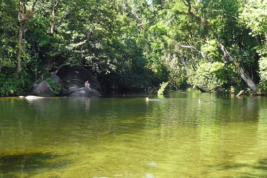 Babinda, Australia: Swimming area