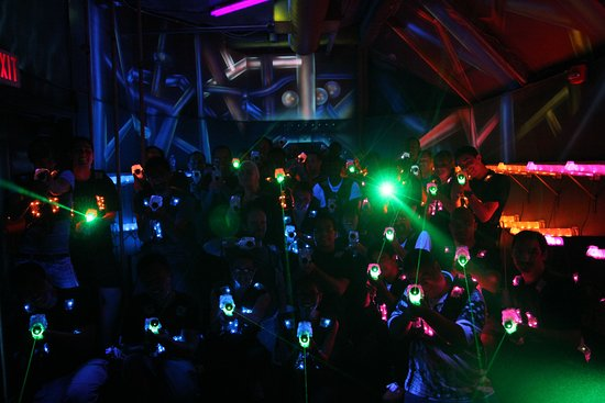 We Feature Cutting Edge Laser Tag Equipment Picture Of