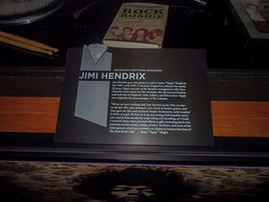 Musicians Hall of Fame and Museum: Jimi Hendrix