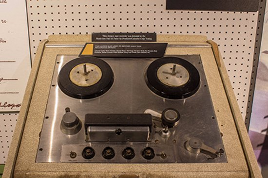 Musicians Hall of Fame and Museum: Old recording station