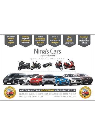 Chalong, Thailand: Nina's Cars