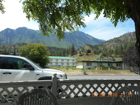 Lillooet, Canada : View from my seat