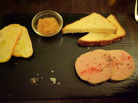 Brasserie la bonne franquette: Foie Gras de Canard