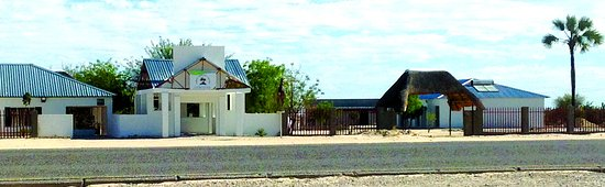 Lodge from the road