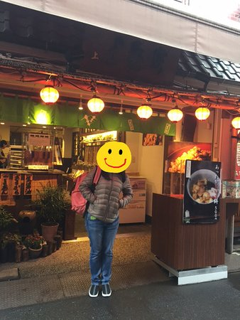 Ibaraki, Japan: The very small shop that sell great soup and mochi