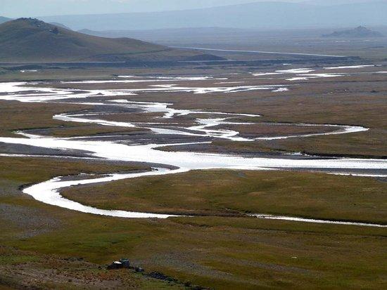 Alay Valley: Kyzyl Su   Hauptfluss Im Alay Tal