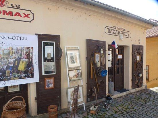 Moravia, Czech Republic: Антикварная лавка