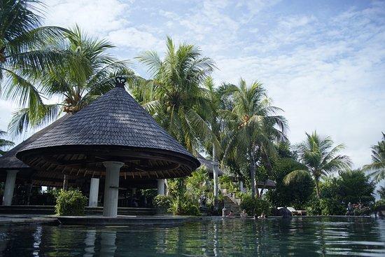 Negara, Indonesia: kolam renang dengan pemandangan danau dan keindagan alam