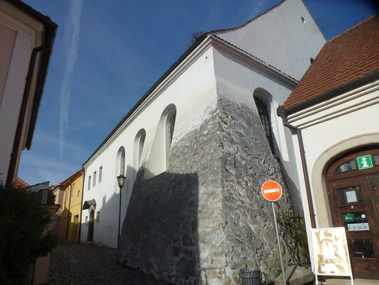 The Jewish Quarter and St Procopius' Basilica in Trebic: Синагога