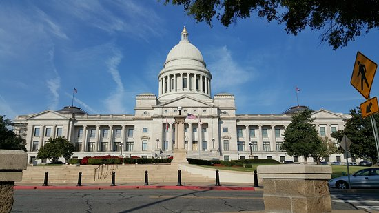 Arkansas State Capitol: AR state capital building.