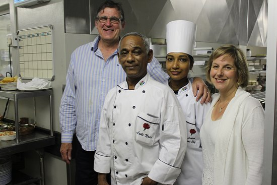 The Oyster Box: Luke, Sid, Ali and Pastry Chef