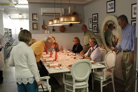 The Oyster Box: Chefs table