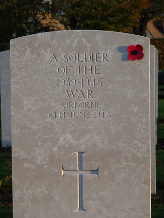 West Flanders Province, Belgium: Bayeux Military Cemetery and Memorial